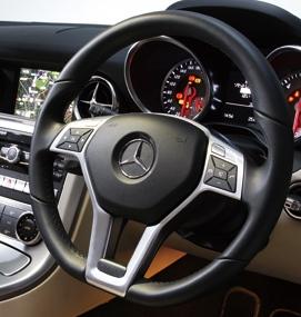 benz-steering