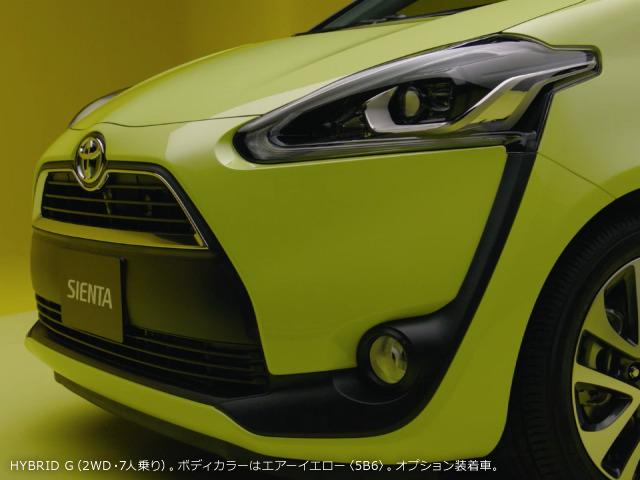 新型トヨタ・シエンタ