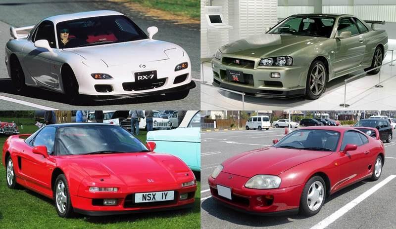 2002年に消えたスポーツカーたち